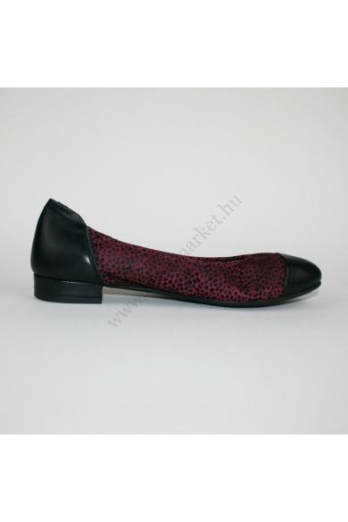 SABRINAS női bőr balerina cipő (38)
