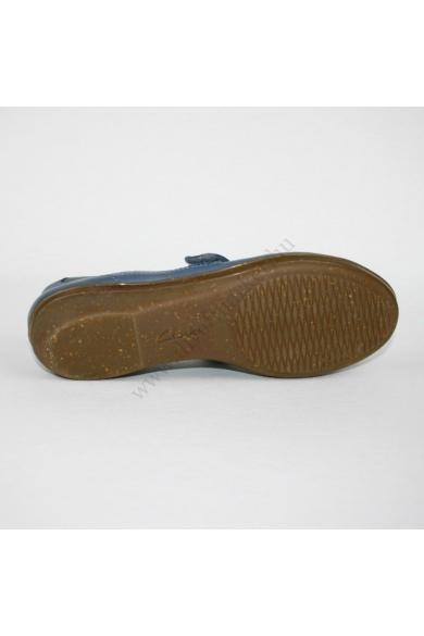 CLARKS CUSHION SOFT női bőr kényelmi cipő (38)