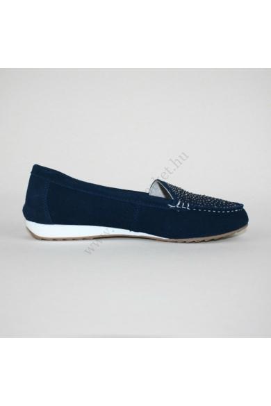 CUSHION-WALK női bőr(velúr) kényelmi cipő/mokaszin (42)