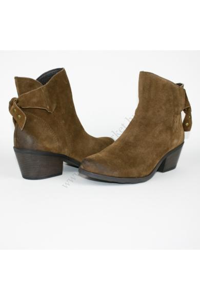 VENTURINI női bőr (velúr) bokacsizma,1030770 modell