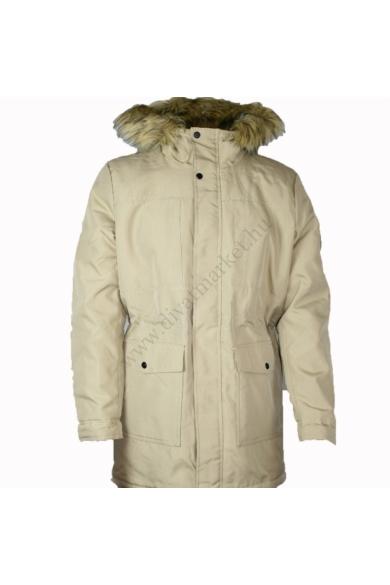 ONLY&SONS férfi téli kabát, kellemes drapp színvilággal, 22013441 modell