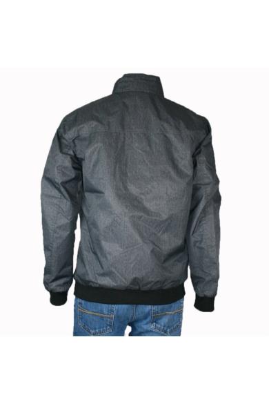JACK&JONES férfi átmeneti kabát, kellemes grafitszürke színvilággal, 12129755 modell