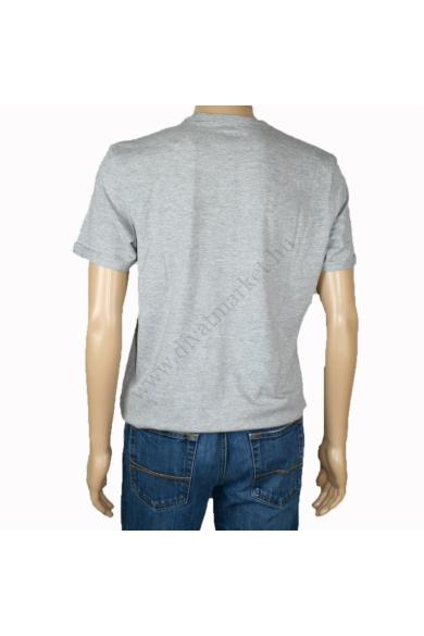 TOM TAILOR férfi rövid ujjú póló, szürke színvilággal, 1013568.XX.10 modell