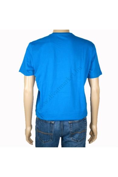 TOM TAILOR férfi rövid ujjú póló, kék színvilággal, 1014069.XX.10 modell