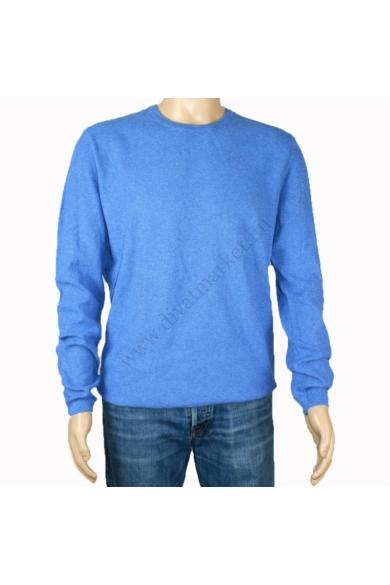 TOM TAILOR férfi vékony kötött pulóver, kék színvilággal, 1008078.XX.12 modell