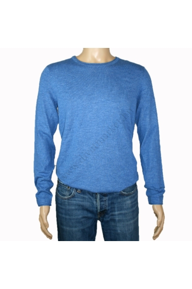 TOM TAILOR férfi vékony pulóver, kék színvilággal, 1006217.XX.10 modell