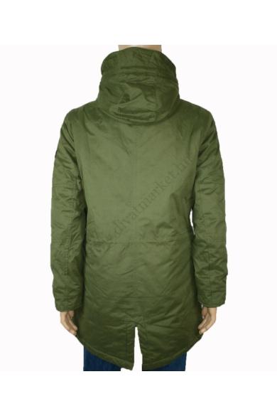 OM TAILOR férfi téli vízálló kabát, parka, khaki színvilággal, 1012016.XX.12 modell