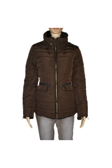 STRADIVARIUS női téli kabát, barna színvilággal, 8095/283/400 modell
