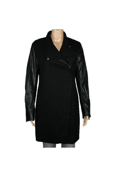 STRADIVARIUS női átmeneti kabát, fekete színvilággal, 8020/234/001 modell