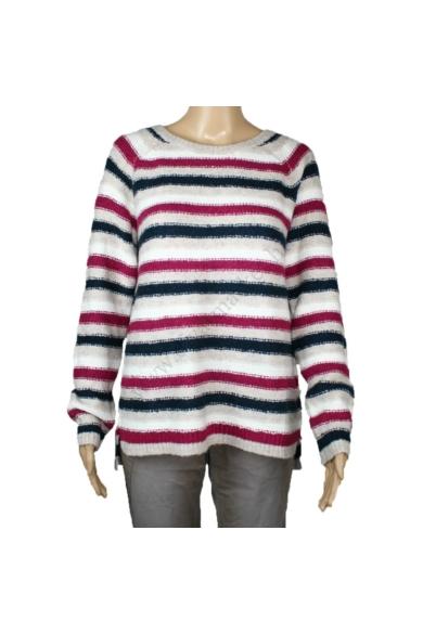 TOM TAILOR női kötött pulóver, többszínű színvilággal, 1008517.XX.10 modell