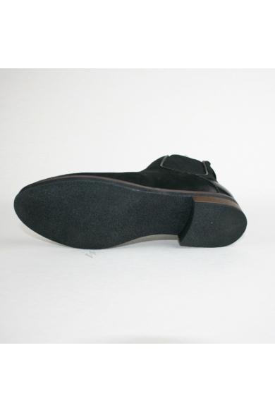 VENTURINI női bőr bokacsizma, fekete színben, 1030761 modell