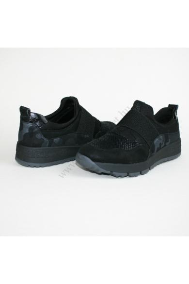 BAMA női sportos cipő, fekete színben, 1029837 COMFORT PLUS modell
