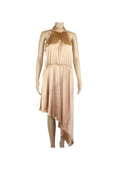 SISTERS POINT női elegáns ruha, kellemes teve színvilággal, NALDO-DR modell