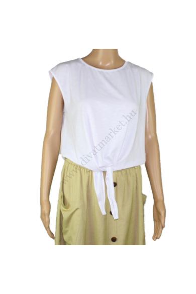 SISTERS POINT női felső/top, kellemes fehér színvilággal, PALA-SL modell