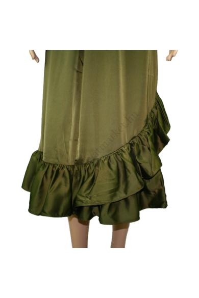 LOVE&DIVINE női szoknya, kellemes khaki színvilággal, LOVE216-5 modell