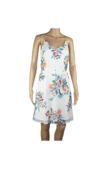 VERO MODA női ruha, kellemes krém virág mintás színvilággal, 10166410 modell,