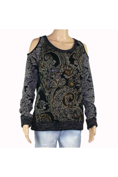 DESIGUAL női pulóver (XL)