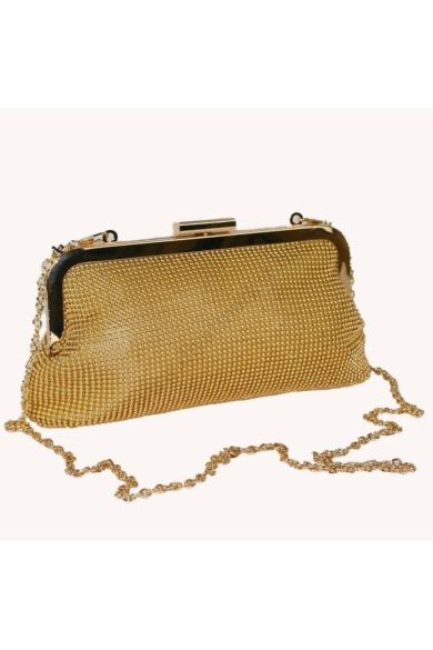 CARPISA női elegáns csillogó táska arany színben BC464801S17 modell