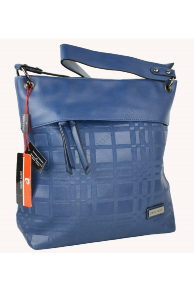 PIERRE CARDIN női nagy méretű táska sötétkék színben 1261 MS120 modell