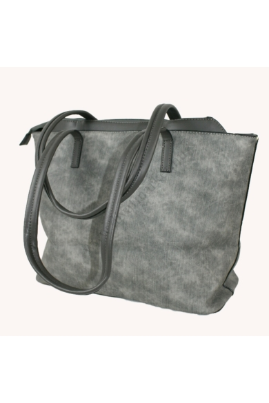 PIERRE CARDIN női nagy méretű táska szürke színben 92983 IZA288 modell