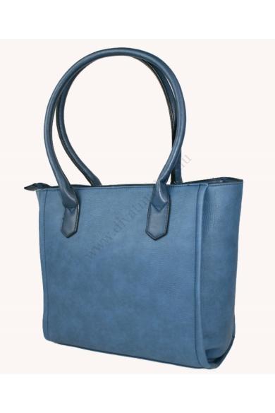 PIERRE CARDIN női nagy méretű táska kék színben 93103 IZA325 modell