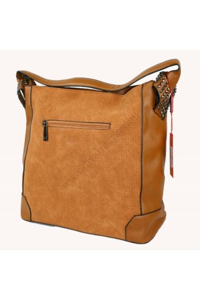 PIERRE CARDIN női nagy méretű táska barna színben 13303 IZA209 modell