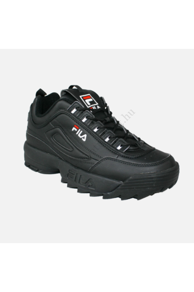 FILA DISRUPTOR LOW férfi sportcipő sneaker, fekete színben, 1010262.12V modell