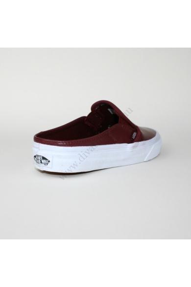 VANS CLASSIC SLIP ONE MULE női slip-one, cipő, bordó színben, VN 0004KTIFL modell