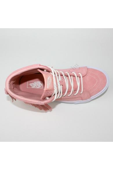VANS SK8-HI MOC SUEDE gyerek magasszárú sportos cipő sneaker, rózsaszín színben, VN-0 303I3V modell
