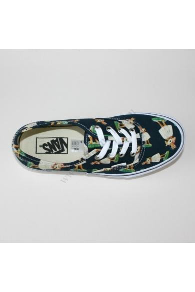 VANS AUTHENTIC DIGI HULA PRSIAN unisex sportos cipő sneaker, többszínű színben, VN 0004MKID9 modell