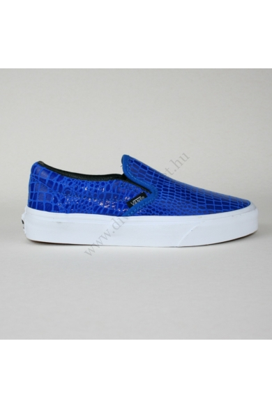 VANS CLASSIC SLIP ONE SNAKE LEATHER gyerek slip-one, cipő, kék színben, VN-0 18DH0C modell