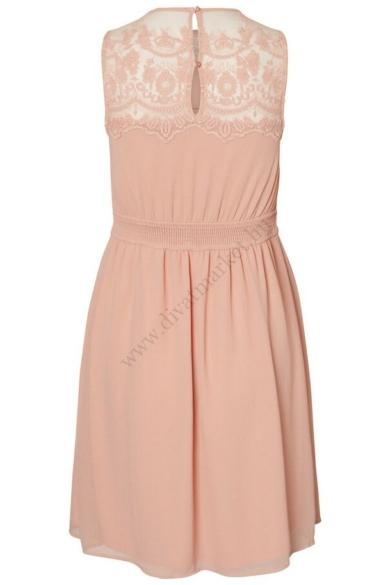 VERO MODA női elegáns rózsaszín ruha (S)