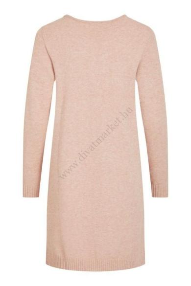 VILA CLOTHES női rózsaszín kötött ruha, tunika (több méretben)