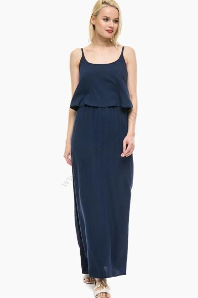 VERO MODA női maxi ruha, kellemes sötétkék színvilággal, 10179516 modell
