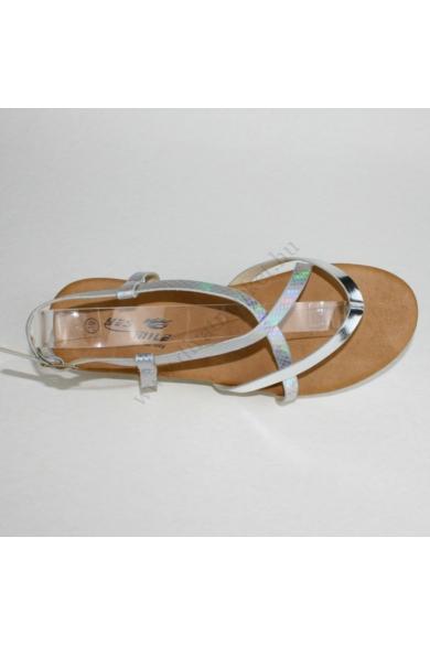 LINETT női kényelmi szandál - ezüst (36-41) Yes Mile