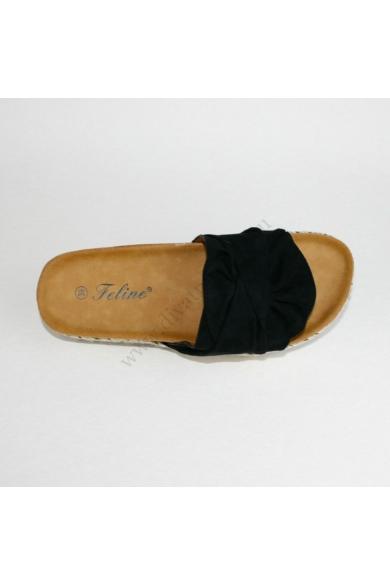 KOLETT női kényelmi papucs - fekete (36-41) Feline
