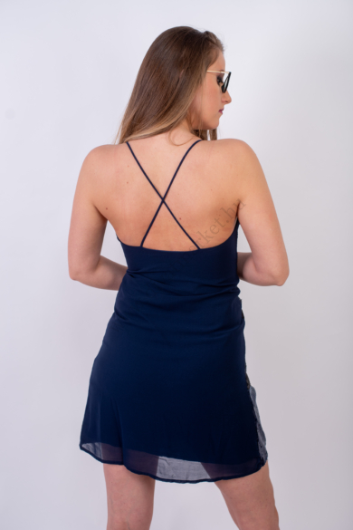 DESIGUAL női flitteres alkalmi ruha (S)