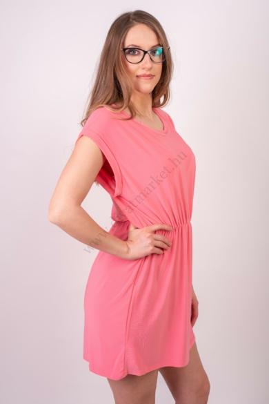 SISTERS POINT női ruha, kellemes rózsaszín színvilággal, LOW-DR.A modell