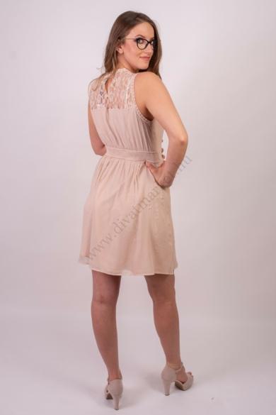 VERO MODA női elegáns ruha, kellemes rózsa színvilággal, 10149620 modell