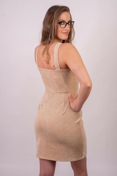 SISTERS POINT női ruha, kellemes homok színvilággal, GENZ modell