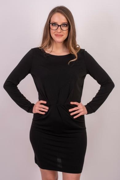 VILA CLOTHES női ruha, fekete színvilággal, 14052226 modell