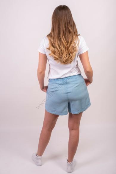 SISTERS POINT női rövidnadrág, kellemes kék színvilággal, BETA-SHO modell