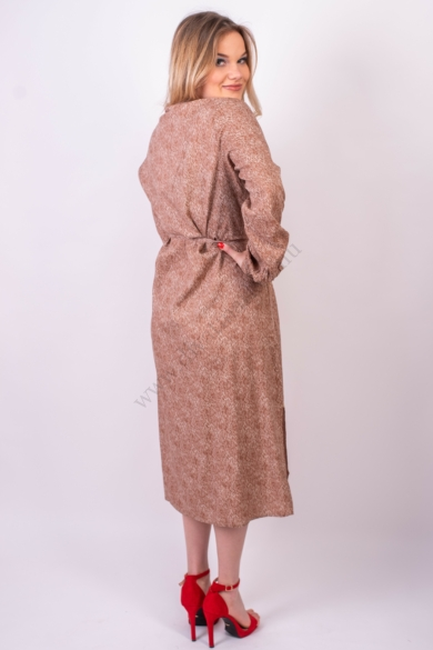 VILA CLOTHES női ruha, kellemes barna színvilággal, 14059667 modell