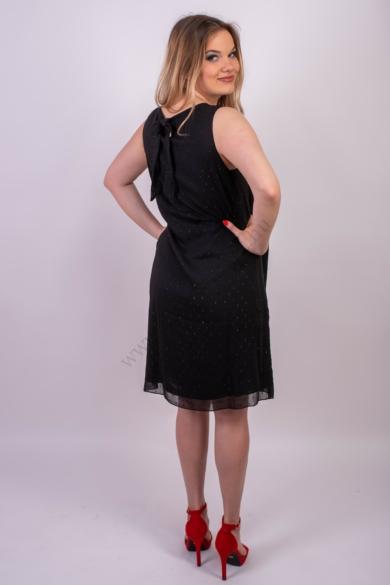 TOM TAILOR női fekete ujjatlan ruha (M)