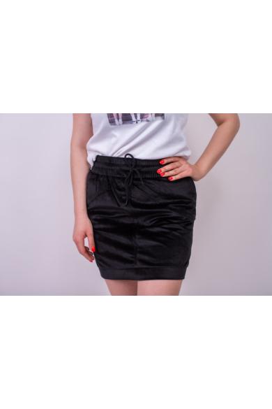 SISTERS POINT női fekete mini szoknya (több méretben)