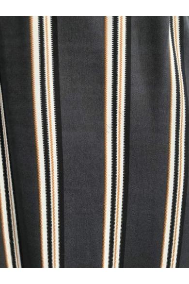 SISTERS POINT női szoknya, kellemes fekete csíkos színvilággal, EMMY-SK3 modell