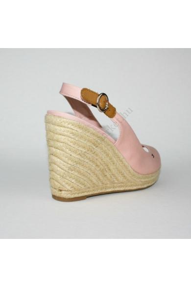TOMMY HILFIGER női éktalpú platform szandál -rózsaszín (több méretben)