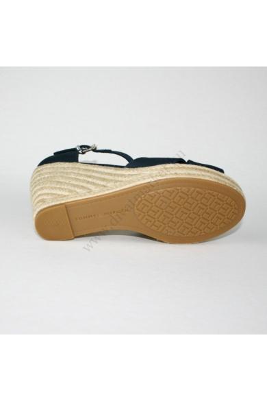 TOMMY HILFIGER női éktalpú platform szandál-sötétkék (több méretben)
