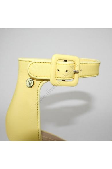 TOMMY HILFIGER női magassarkú szandál-sárga (több méretben)